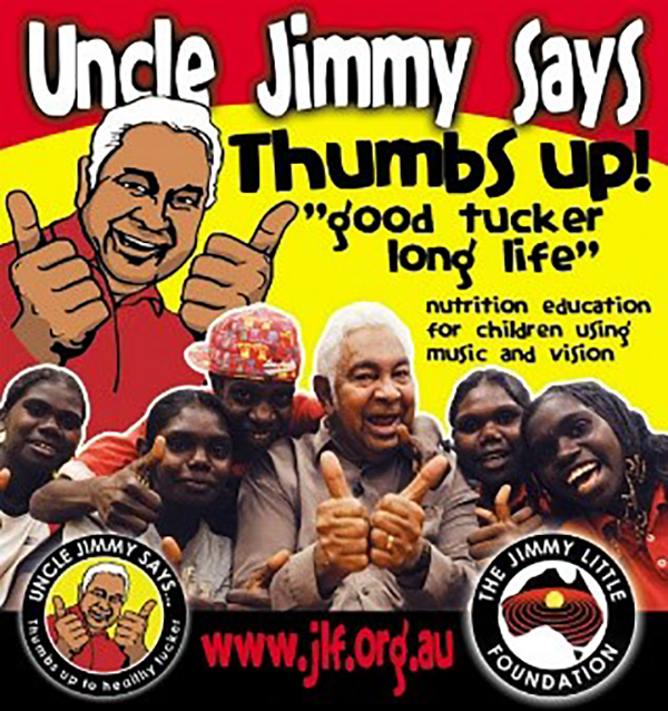 Uncle Jimmys Thumbs Up